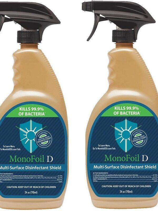 MonoFoil D Disinfectant Spray 99¢ (Reg. $12)!