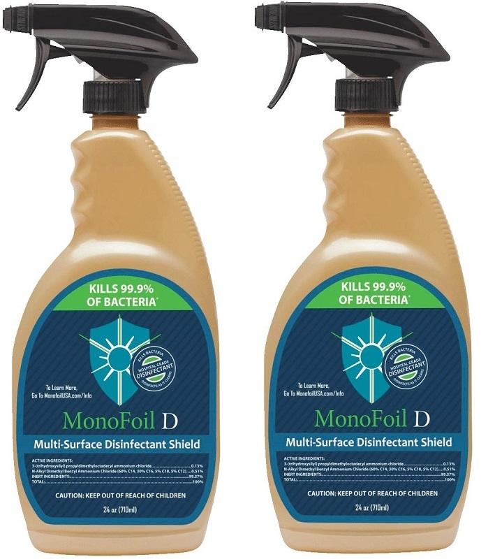 MonoFoil D disinfectant spray