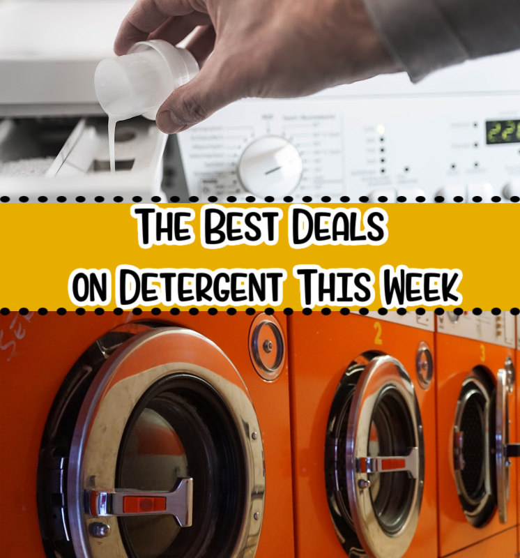 The Best Detergent Deals This Week – as Low as 94¢