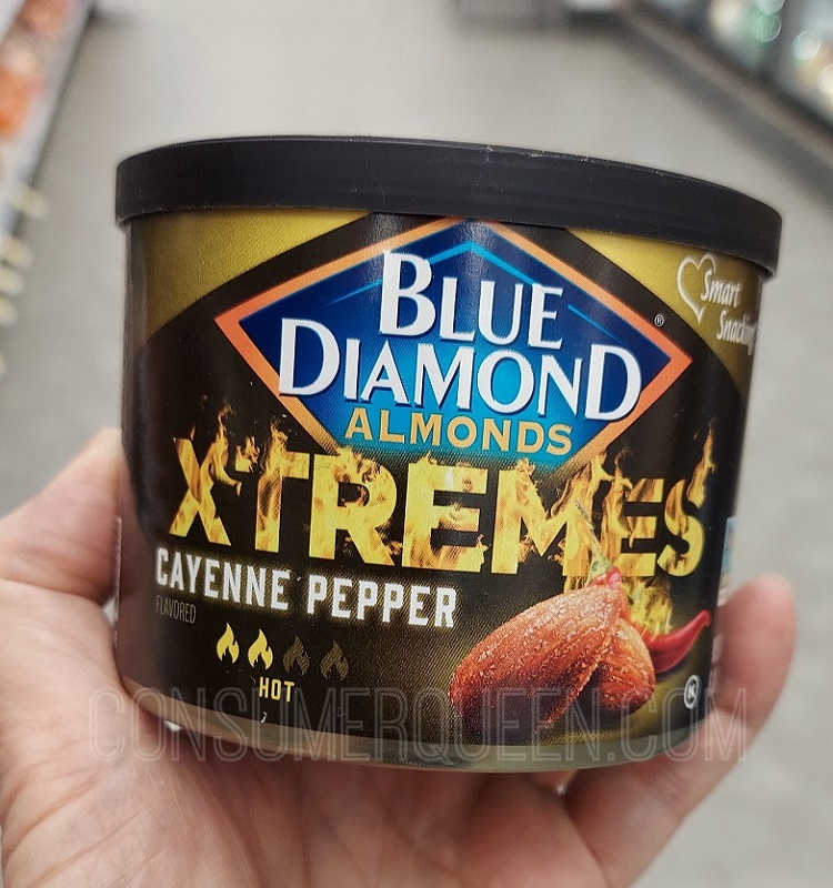 Blue Diamond Almonds Xtremes $1.36