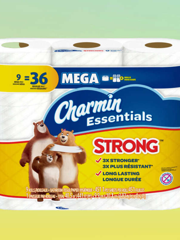 Charmin 9 Mega Roll Bath Tissue $4.80 (Reg. $8.99)