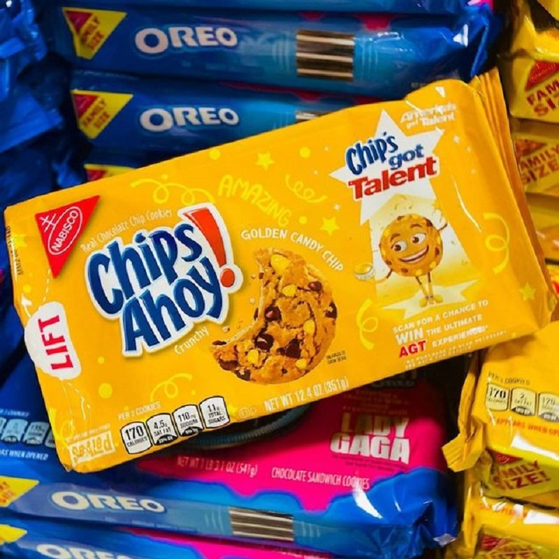 Chips Ahoy! Golden Candy Chips Cookies