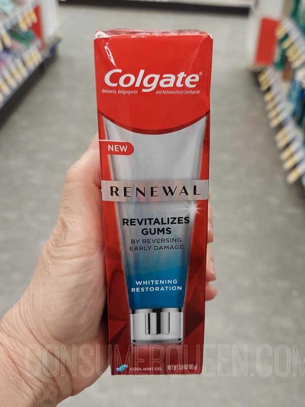 Colgate Gum Renewal 96¢ at Walmart!