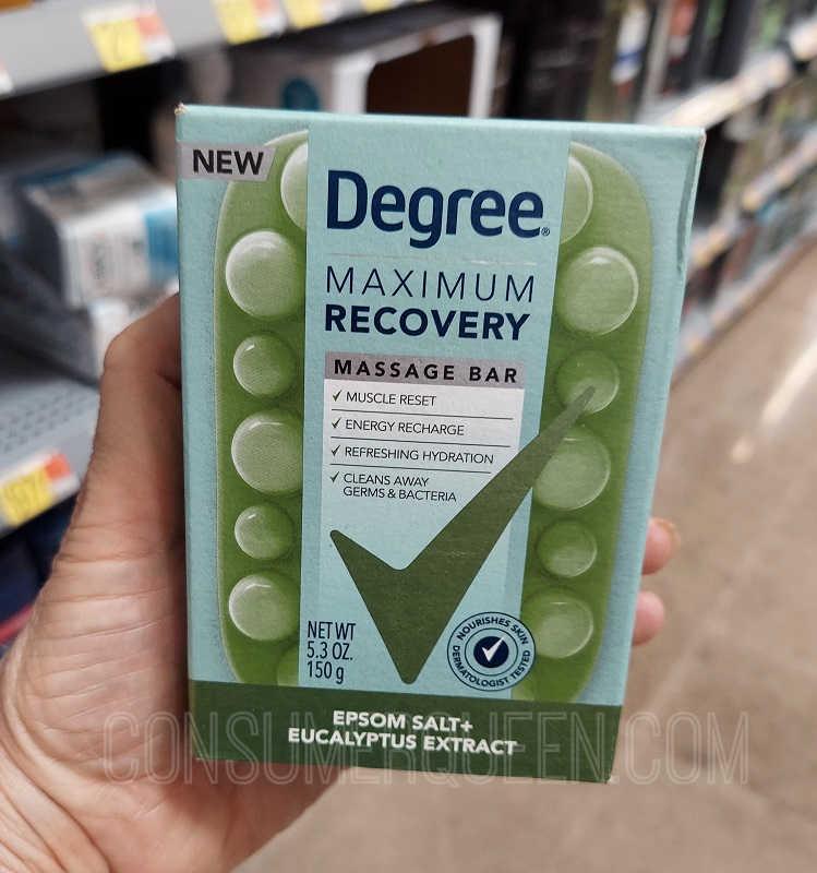 Degree Maximum Recovery Massage Bar
