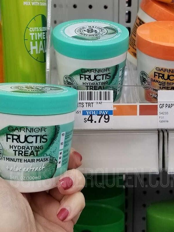 2 FREE Garnier Fructis Treat Hair Masks at CVS!