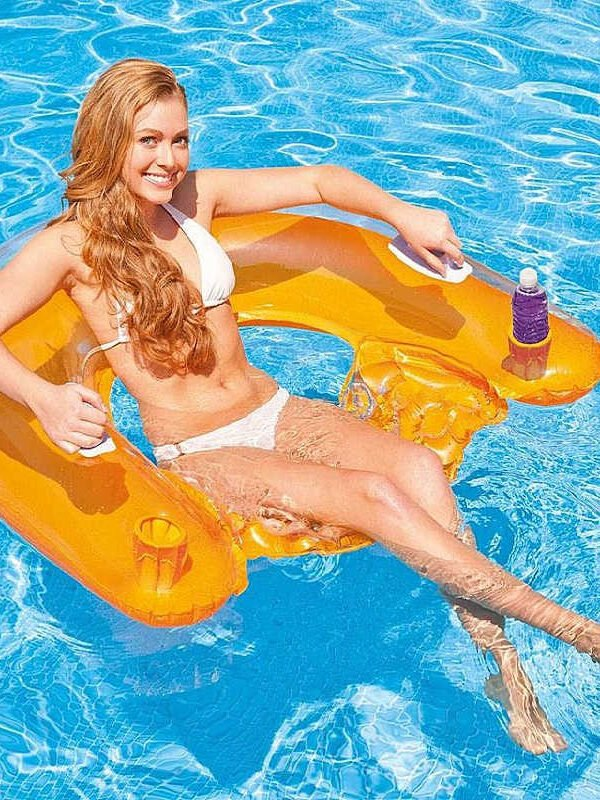 Inflatable Floating Pool Loungers 2-Pack $32.48 (Reg. $92.48)