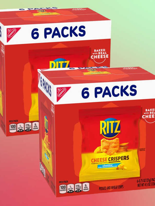 Ritz Cheese Crispers 6 Pack Only $1.49!