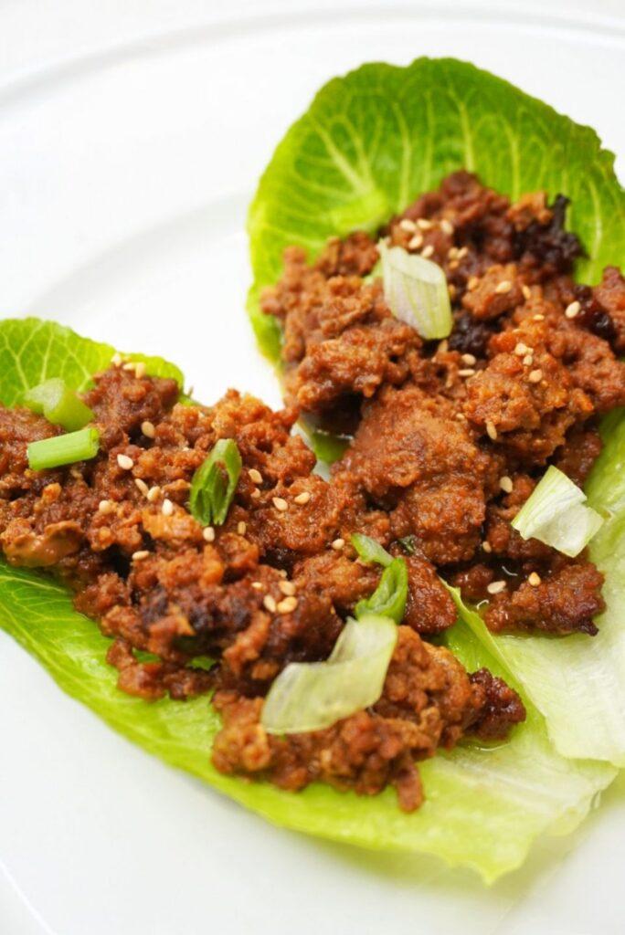Lettuce Beef Wrap