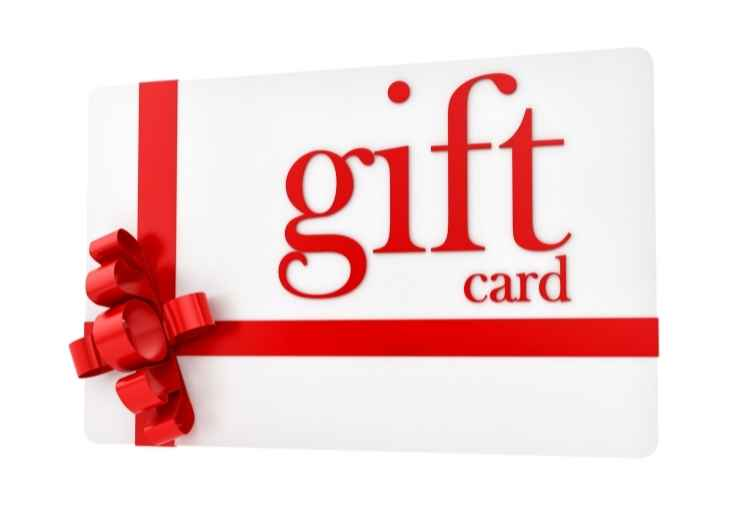 QuickRewards gift cards