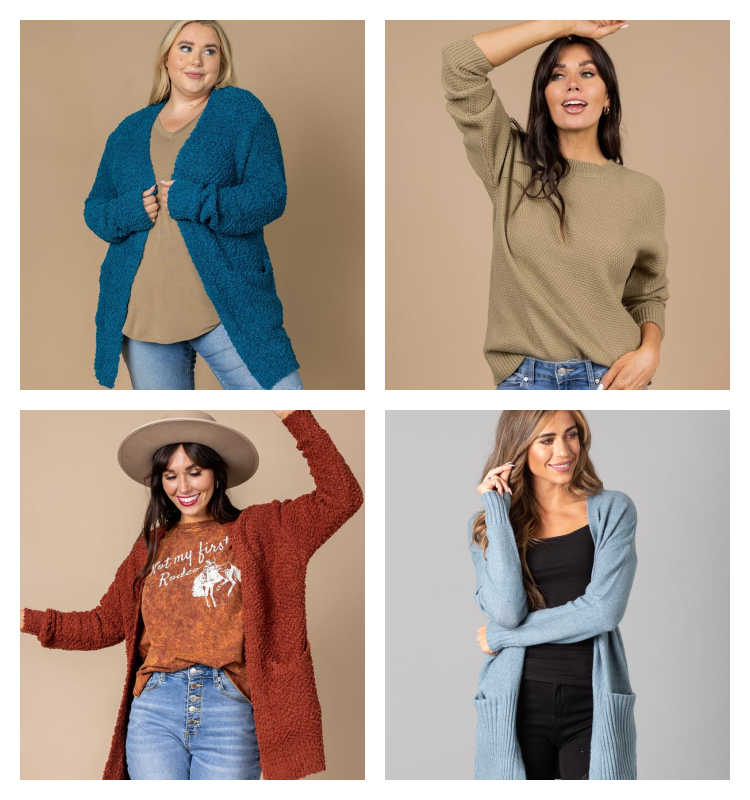 Cardigan Sale + Additional 20% Off! *EXPIRED*