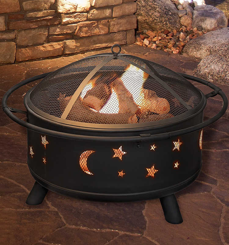 Pure Garden Fire Pit $99.99 – Ships Free (Reg. $200) *EXPIRED*