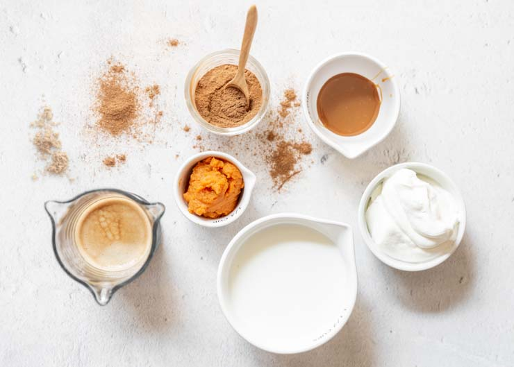 Pumpkin Spice Latte Ingredients