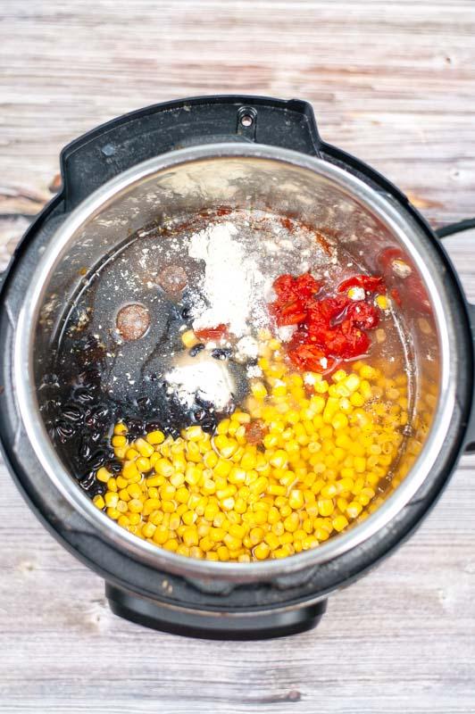Crack Chicken Chili Ingredients