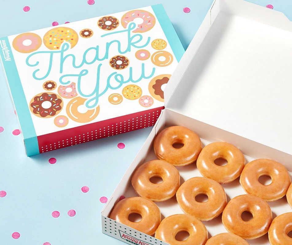Krispy Kreme BOGO Free Dozen