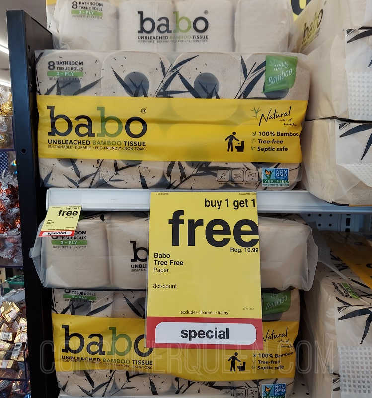 babo Bath Tissue as Low as $2.18!