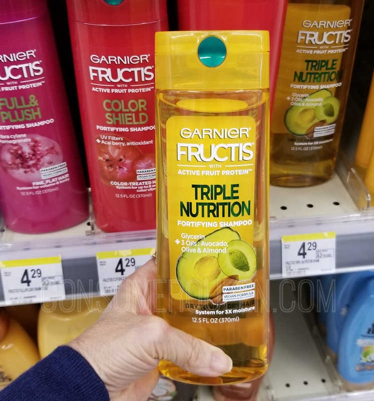 Garnier Fructis Hair Care Only 73¢ at Walgreens Online!