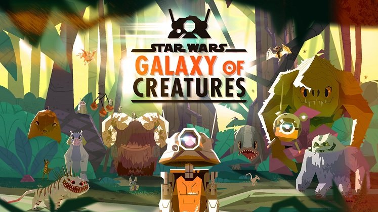 New Galaxy of Creatures Animated Series on Star Wars YouTube Channel!