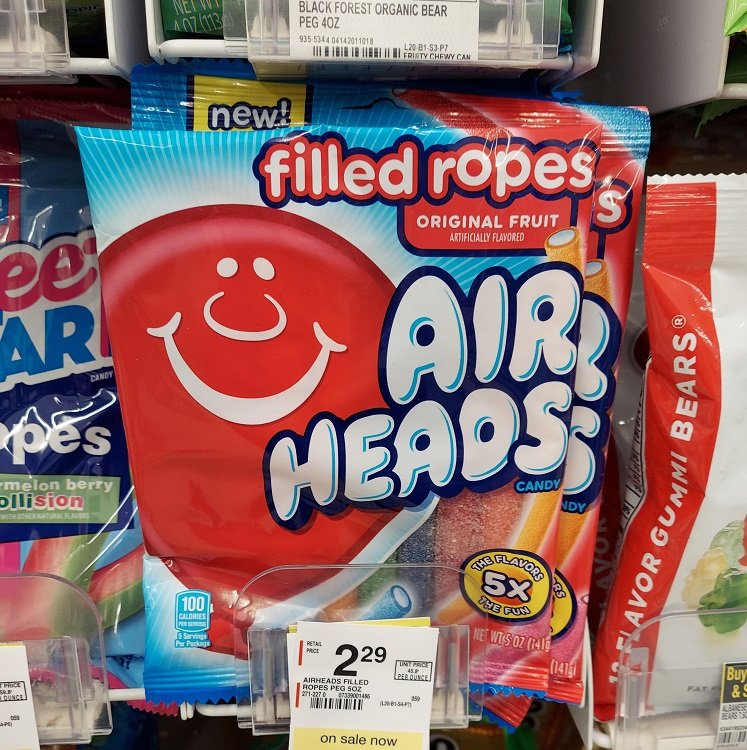 Airheads Filled Ropes FREE at Walgreens